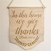 In This Home We Give Thanks - Banner