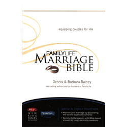 FamilyLife Marriage Bible:  Brown Leather