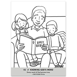 Glorious God, Glorious Gospel Coloring Book