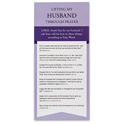 Lifting My Husband Through Prayer