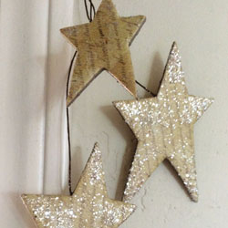 2-Pack Bright Morning Star Garland