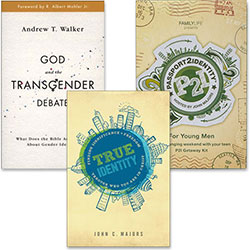 God and the Transgender Debate Special for Young Men - Special Offer