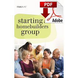 Starting a Homebuilders Group (PDF)