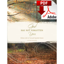 God Has Not Forgotten You - Full Devotional (PDF)