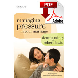 Managing Pressure in Your Marriage (PDF)