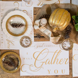 Gather Together Placemats - Set of 4