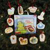 The Twelve Names of Christmas Ornaments