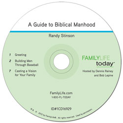A Guide to Biblical Manhood - Audio CD