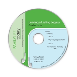 Leaving a Lasting Legacy - Audio CD