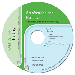 Stepfamilies and Holidays - Audio CD