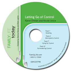 Letting Go of Control - Audio CD