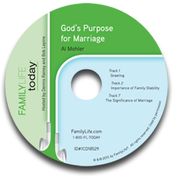God's Purpose for Marriage - Audio CD