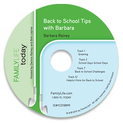Back to School Tips with Barbara - Audio CD