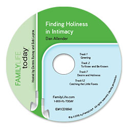 Finding Holiness in Intimacy - Audio CD