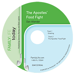 The Apostles' Food Fight - Audio CD