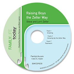Raising Boys the Zeller Way - Audio CD
