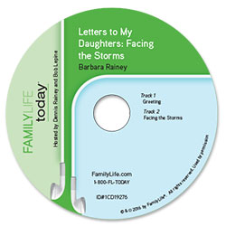 Letters to My Daughters: Facing the Storms - Audio CD