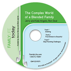 The Complex World of a Blended Family - Audio CD