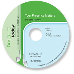 Your Presence Matters - Audio CD
