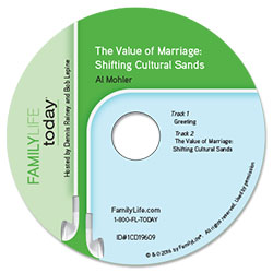 The Value of Marriage: Shifting Cultural Sands - CD