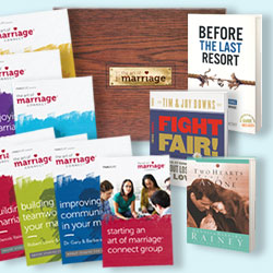 Marriage Ministry Pack with The Art of Marriage Event Kit
