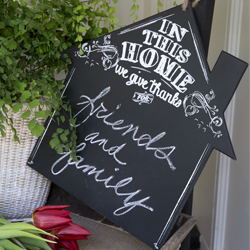 In This Home Chalkboard