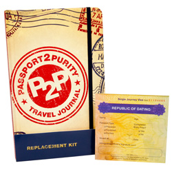 Passport2Purity® Travel Journal Replacement